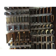 江西铝合金圆管生产厂家 高档印花木纹铝合金圆管 订做各种铝圆管
