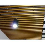 青海铝圆管厂家 型材铝圆管天花吊顶 办公室走廊圆形木纹铝圆管定做