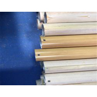 新疆铝圆管厂家 6061不同表面处理木纹铝圆管60mm 规格任意定制