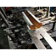 上海铝圆通厂家 型材铝圆管天花 氟碳铝圆管吊顶 冲孔铝圆管