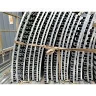 贵州长城铝单板厂家 长城铝合金板 铝板凹凸折叠长城形状 木纹长城板