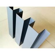 安徽长城铝单板厂家 凹凸长城铝单板 2.0mm静电粉末喷涂环保波浪形铝板