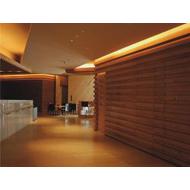 浙江长城铝单板厂家 长城铝合金板 铝板凹凸折叠长城形状 木纹长城板