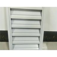 湖北铝百叶窗厂家 供应铝合金百叶窗 电动遮阳百叶窗