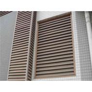河北铝合金百叶窗厂家 防雨铝百叶窗空 调外机防尘吸音罩定制厂家