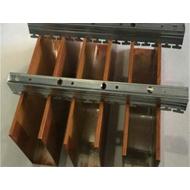广东金腾达铝方通厂家直销u形铝方通 木纹铝方通 铝方通吊顶 50*100铝方通
