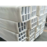 浙江金腾达铝方通厂家u形铝方通 氟碳U型铝方通价格 万达广场白色铝方通吊顶