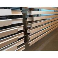 福建金腾达铝方通厂家 u型铝方通多少钱一米 商场走廊U形铝方通吊顶