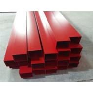 贵州铝方管厂家 铝型材方管 矩形铝方通 氟碳四面铝方管 模具齐全