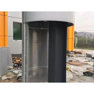 铝单板厂2.5mm氟碳弧形铝单板厂房户外半圆包柱铝单板