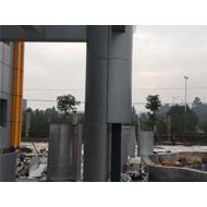 铝单板厂3.0mm氟碳圆柱铝单板办公楼户外弧形包柱铝单板